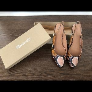 🆕 Madewell Margot Slingback Flats